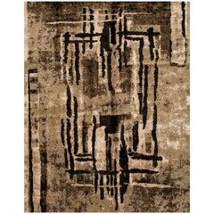 Contemporary Tibetan Abstract Rug