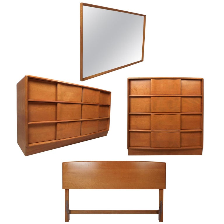 Midcentury Heywood Wakefield Bedroom Set