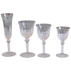 Set of St. Louis Crystal Glasses