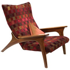 Adrian Pearsall for Craft Associates Mid-Century Modern Lounge Chair