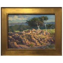 """""""17 Mile Drive"""" Plein Air Painting by Ben M. Young"""