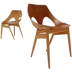 Pair of Carl Jacobs & Frank Guille Designed 'Jason' Chairs for Kandya, 1950s