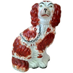 English Staffordshire Spaniel Dog, circa 1880