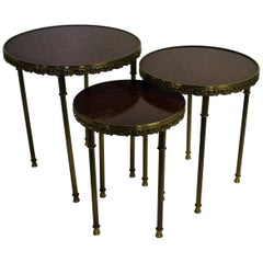 Vintage Neoclassical Italian Side Tables, 1960s