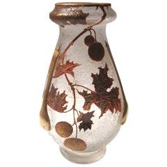 Art Nouveau Legras 'Tear' Vase