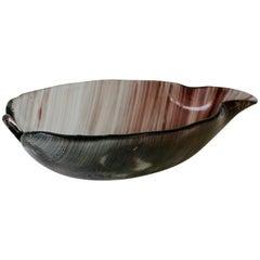 Tessuto Filigrana Glass Bowl by Tyra Lundgren for Venini