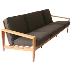 Oak Sofa Bodö by Svante Skogh for Säffle Möbelfabrik