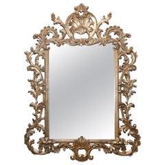 Vintage Labarge Gilt Rococo-Style Mirror
