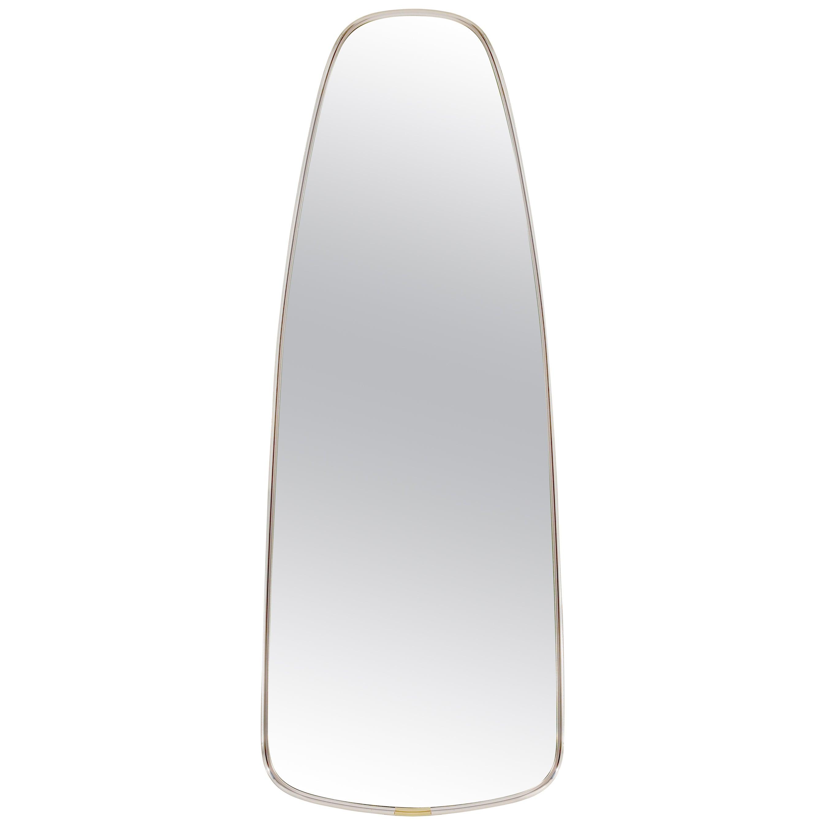 Teardrop Mirror in the Style of Karl Springer