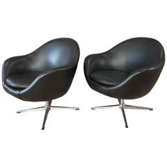 Pair of Overman Pod Chairs