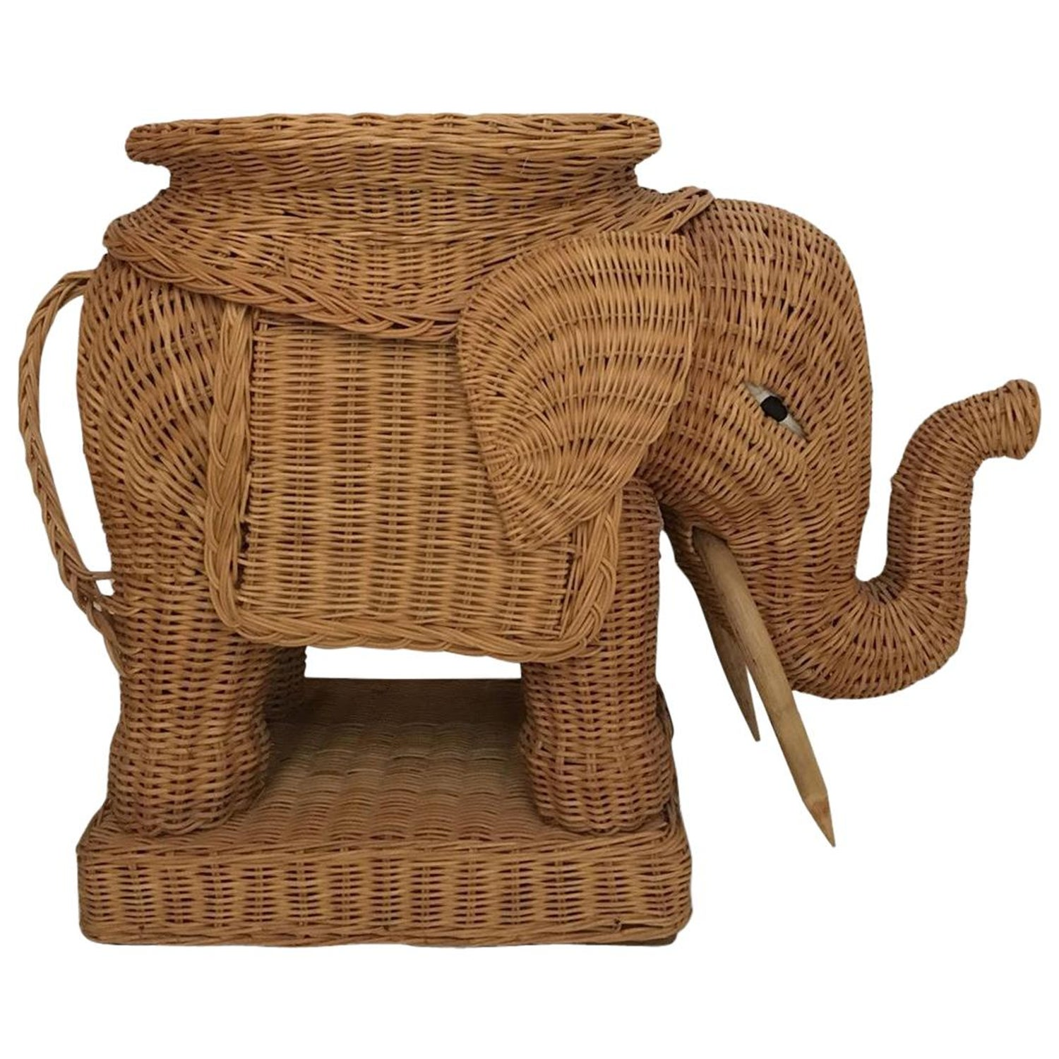 Elephant Garden Stool or Side Table at 1stdibs