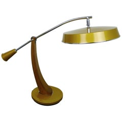 El Presidente Pendulo Desk Lamp from Fase, Spain, 1960s