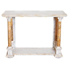 Early 19th Century Italian Marble Console Table
