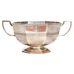 Amorial Silver Pedestal Bowl / Cup by C. C. Pilling for Tiffany & Co.