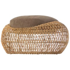 Balou Outdoor or Indoor Ottoman by Kenneth Cobonpue