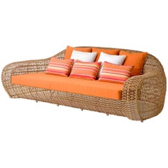 Balou Outdoor or Indoor Daybed by Kenneth Cobonpue