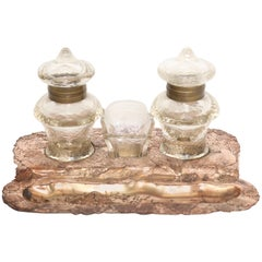 Japonais Revival Coppered Inkstand