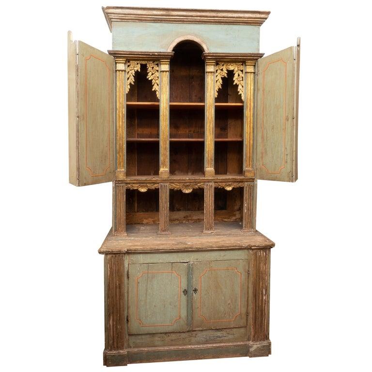 Fabulous 18th Century Italian Cabinet For Sale