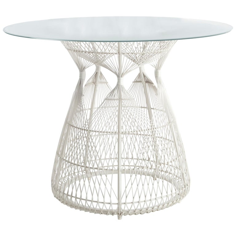 Hagia Outdoor Dining Table by Kenneth Cobonpue
