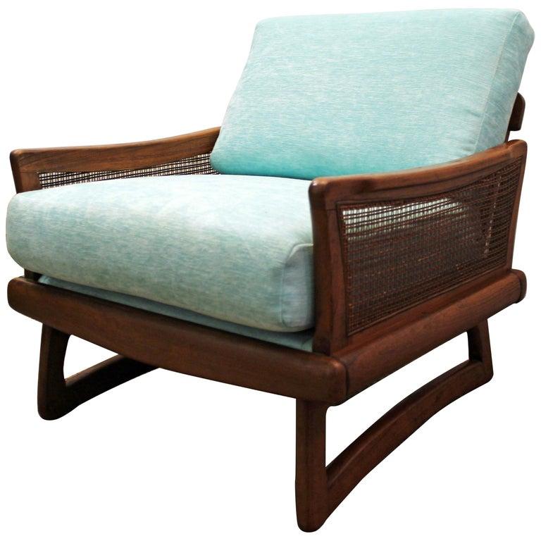 Mid-Century Modern Adrian Pearsall Style Boomerang Leg Lounge Chair