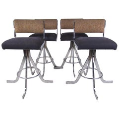 Set of Vintage Modern Barstools