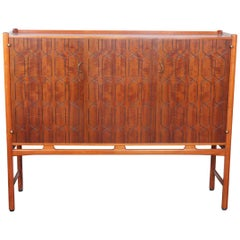 Midcentury Swedish Mahogany 'Napoli' Credenza by David Rosen