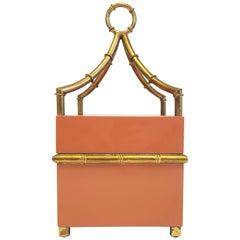 Chelsea House Orange Bamboo Box