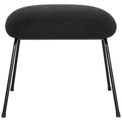 Madeleine Ottoman in Carbon Steel/Eletrostac Paint