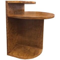 Brazilian Contemporary, Café Side Table in Brazilian Solid Wood