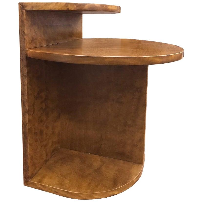 Brazilian Contemporary Café Side Table in Brazilian Hardwood