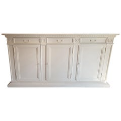 Matt White Classic Design Buffet or Sideboard