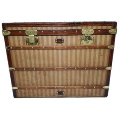 Louis Vuitton Trunk Haut Courier Rayee Trunk from 1870s