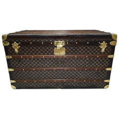 Louis Vuitton Trunk Damier Courier Trunk from 1880s