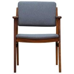 Danish Design Grey Armchair Midcentury Classic