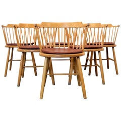 Børge Mogensen Dining Chairs, Model 3249, Set of Six