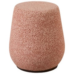 'Lightweight Porcelain' Children's Stool and Side Table, Pink