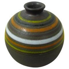 Mid-Century Modern Bitossi Spherical Vase Rosenthal Netter