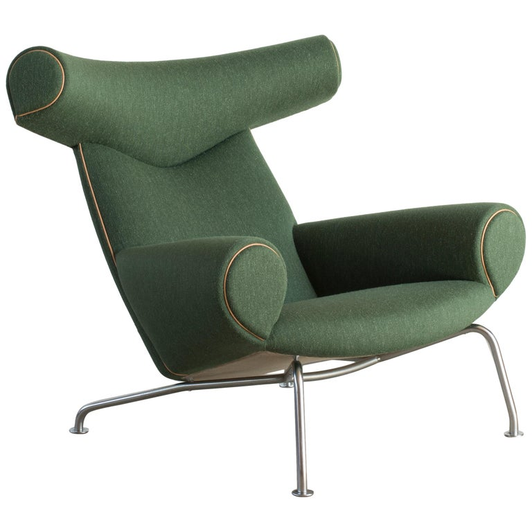 Hans Wegner for AP Stolen Ox chair model AP-46, 1970s, offered by Milsted Andersen