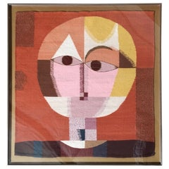 1970s Fiber Art in the Style of Paul Klee