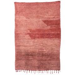 Vintage Moroccan Beni Mrirt Rug