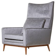 Paul McCobb 314 Lounge Chair in Chase Erwin Velvet for Directional
