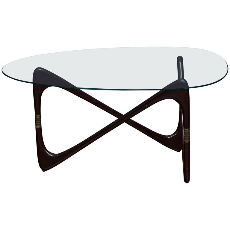 Cesare Lacca Coffee Table, Italy For Sale