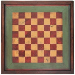 Gameboard Early 20th Century Original Paint