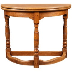 Demilune Side Table