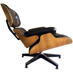 Original Charles & Ray Eames Lounge Chair Model 670 Rosewood Herman Miller 1970s