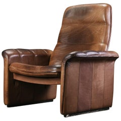 Adjustable De Sede Buffalo Leather Armchairs DS-50