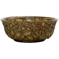 Bowl by the Danish Ceramist Axel Salto