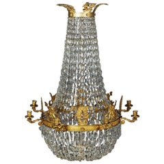 Classic Empire Chandelier, Dreamlike and Noble