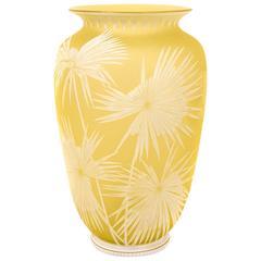 Thomas Webb Japonaise Aesthetic Cameo Glass Vase