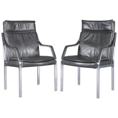 Alpha Art Collection Leather Lounge Chair, Rudolf Bernd Glatzel for Walter Knoll
